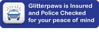 Glitterpaws cat sitting is insured and police checked